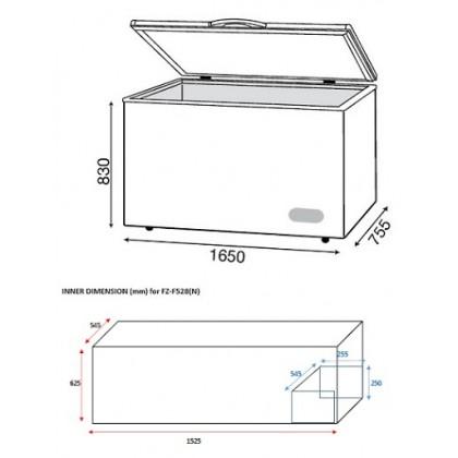 Faber (500L) Chest Freezer FZ-F528 (N) (FZ-F528 (N))