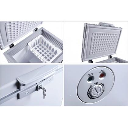 Faber (80L) Chest Freezer (Grey) FZ FREDDO 95 (FZ FREDDO 95)