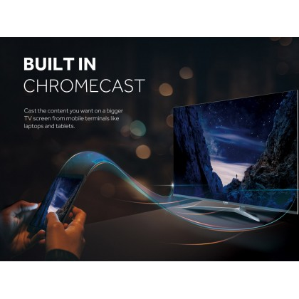 """Haier (43"""" Inch) Full HD Series Android TV LE43K6600G"""