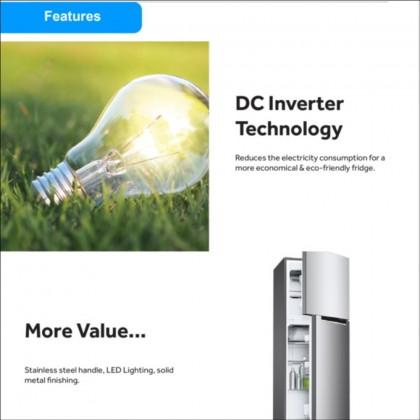 Haier Stylish 2 Door Series Inverter Refrigerator HRF-IV498H  (HRF-IV498H)