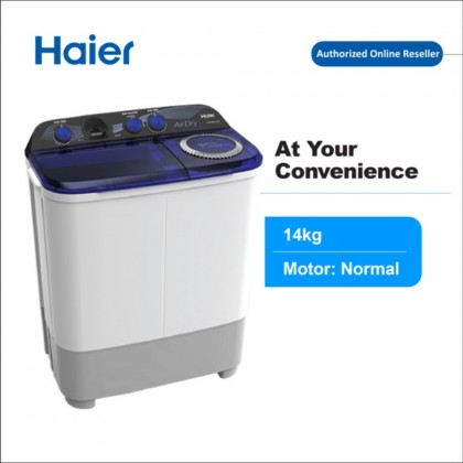 Haier (14kg) Semi Auto Washing Machine HWM140-SX3