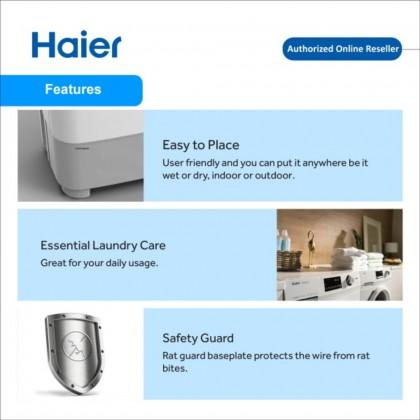 Haier (14kg) Semi Auto Washing Machine HWM140-SX3