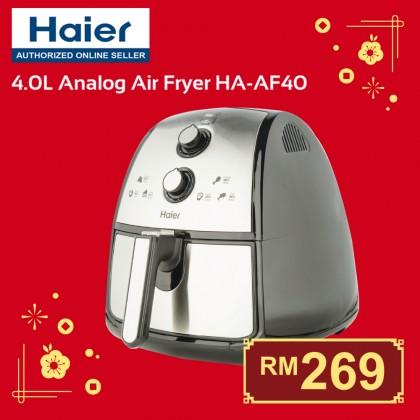 Haier (4.0 L) Analog Air Fryer HA-AF40 Extra Large Capacity