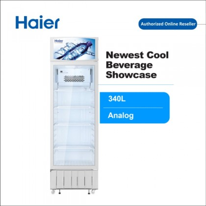 Haier (340) Beverage Chiller Showcase Upright Freezer SC-348 (SC-348)