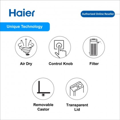 Haier (6kg) Top Load Semi Auto Washing Machine HWM60-SX3