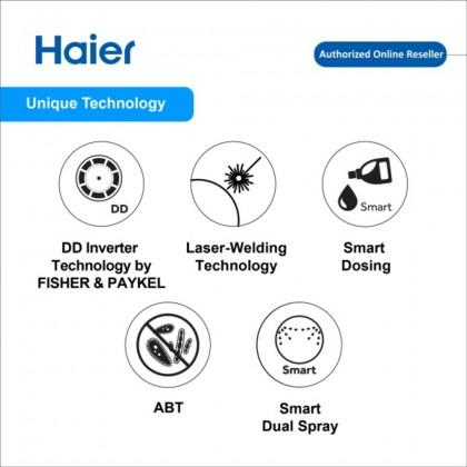 Haier (8kg) Fully Auto Front Load Series Washing Machine HWM80-FD756DD