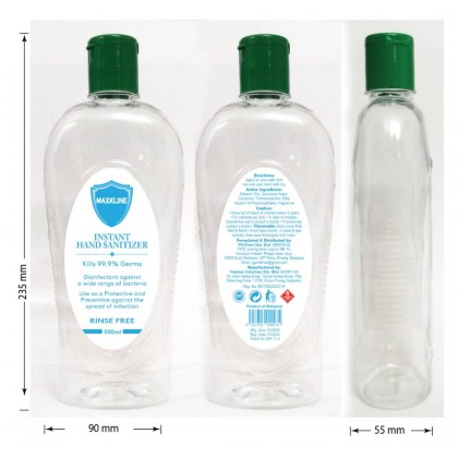 Maxkline Hand Sanitizer 500ml (SHOPEE ONLY CAN SHIP WITHJ&T)