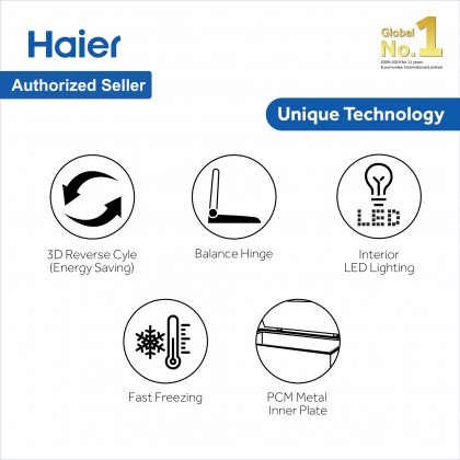Haier (332L) Chest Freezer Convertible (Freezer <> Fridge) BD-328HP (BD-328HP)
