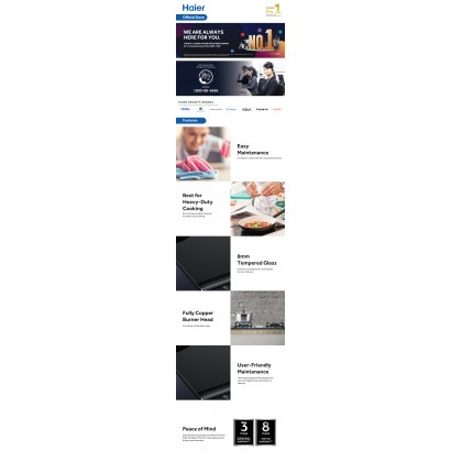 [NEW] Haier Ventilations Hoods Wall-Mounted Hood Series HH-S900C (HH-S900C)