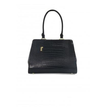 Alfio Raldo Boston Croc Print 3 in 1 Handbag Set