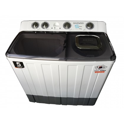 DAEWOO (14KG) Semi Auto Washing Machine DW-1400BT